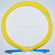 LC/LC SM Duplex Fiber Optic Patch Cord 3.0mm