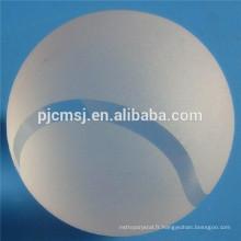Wholesale pur Crystal Balls, baseball cristal pour la décoration ou un souvenir