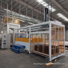 Automobile interior parts press