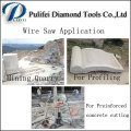 Mable Quarry Wire Rope Saw for Stone and Concrete Cutting