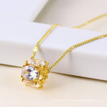 Xuping Jewelry Synthetic CZ Pendant