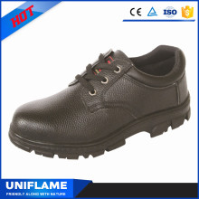 Black Leather Upper CSA Safety Shoes Price at $7