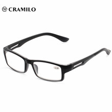 2018 últimas gafas de lectura de los hombres clásicos de moda