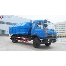Novo Dongfeng CUMMINS 190hp 12cbm roll off caminhão de lixo