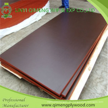 Madera contrachapada de alta calidad impermeable de la película con color negro y marrón