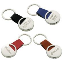 Promotion Leather Keychain Customized Logo (XS-K005)