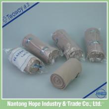 bandage élastique médical de haute compression de couleur de peau
