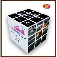 YongJun Hot Selling Popular Impresión OEM Magic Cubes para logotipo de impresión de promoción y embalajes personalizados