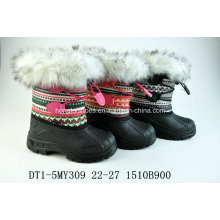Fur Warming Snow Boots for Winter