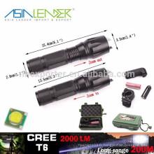 T6 / 10W-2000 Lumens, 135g, BT-4764 Lumière tactile puissante LED