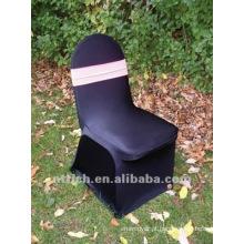 cor preta tampa de cadeira, CT331, apto para todas as cadeiras do estiramento