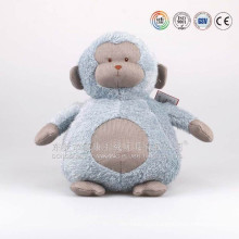 Soft customized 18cm stuffy plushy couple brown moneky toys soft toy for sale