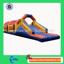 Curso de obstáculo inflável das vendas quentes para miúdos