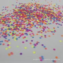 Brillo cosmético del color del color mezclado, polvo fluorescente a granel del brillo