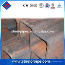 2016 Nuevos productos de moda tubo cuadrado de acero galvanizado 40 * 40mm