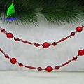 Christmas Ornament Glass Decoration String Ball Chain Gift
