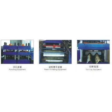 W Beam Guard Rails Making Machine