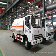 China Lieferanten Kleiner Brennstoff 5000 Liter Tankwagen