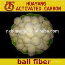 High adsorption polyester fiber ball of water filtration/fiber ball filter