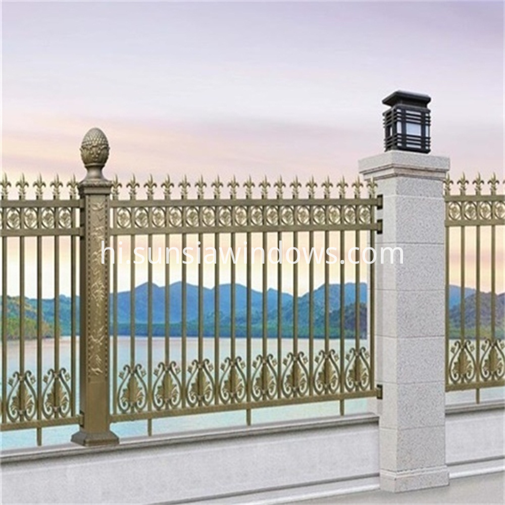 Aluminum Wrought Fence