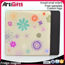 Usine vente directe personnalisé fait réfrigérateur papier aimant