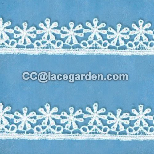 Clothing Decorated Chemical Lace
