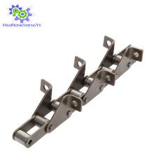 S55-F4 Cadena de rodillos agrícolas con accesorios