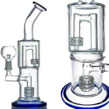 DAB Rig Wasserpfeife zum Rauchen mit Matrix J-Haken (ES-GB-062)