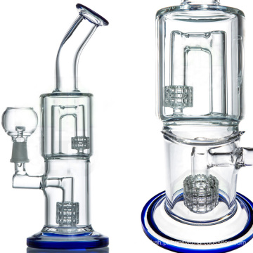 Tubulação de água DAB Rig para fumar com Matrix J-Hook (ES-GB-062)