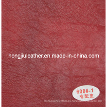 Oferta caliente Special Pattern Sipi Leather for Sofa