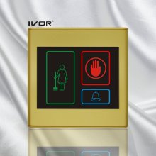 Sistema de timbre del hotel Panel exterior en marco de contorno de plástico (SK-dB2300S3)