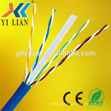 solid pe insulated cat6 network cable cca for internet systems