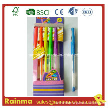 Gel Pen 6PCS Paper Box Packing
