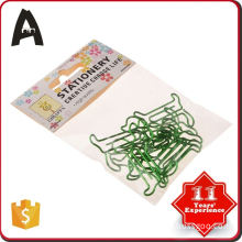 Cheap price hot factory directly camphor tree shape paper clips