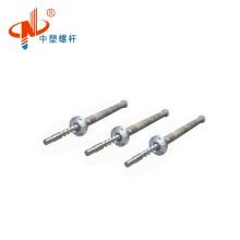 Bimetallic single extruder screw barrel for plastic machine