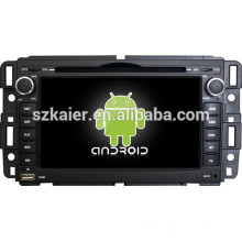 Factory directly ! Android 4.4 touch screen car dvd player for GMC +qual core +OEM