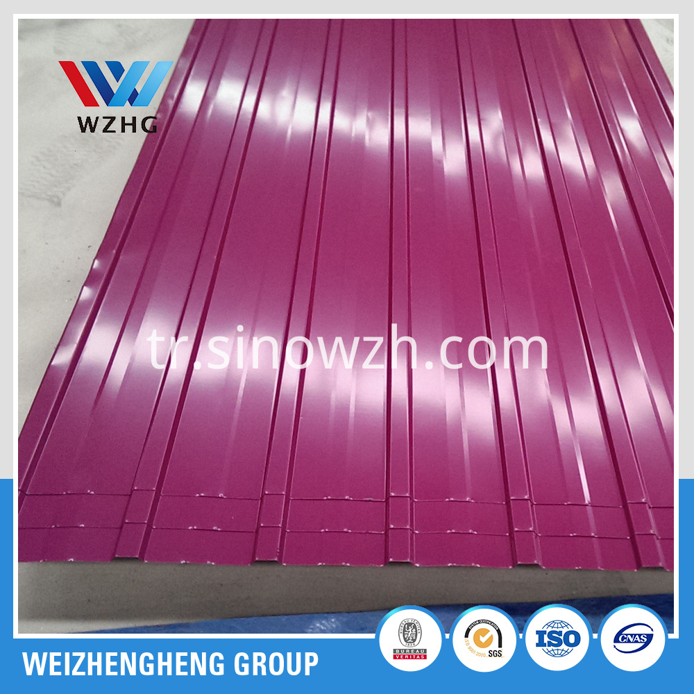 wine red steel sheet