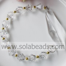 Top Quality 290MM Length Crystal Beading Garland Prism
