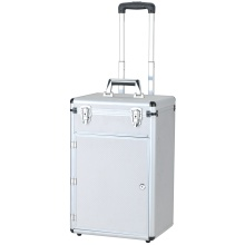 Profi Trolley Flight Case Hersteller, Aluminium Hard Case mit Rädern