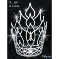large leaf tiara hot sale cheap pageant crown CR-12197