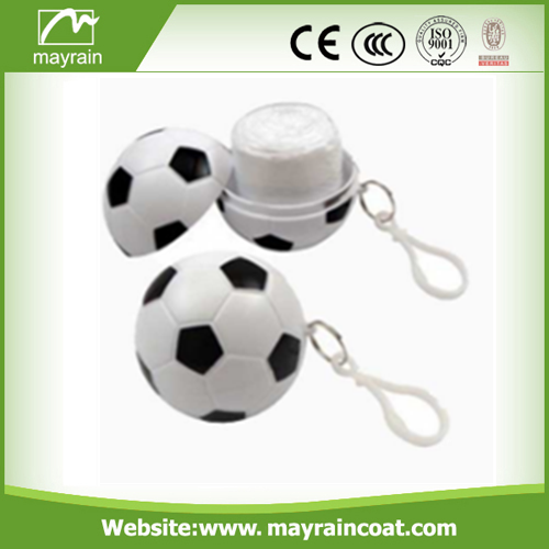 Key Chain Ball Poncho