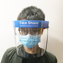 Clear Anti Droplet Full Safty Face Shield Mask