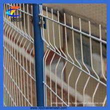 Valla de malla de alambre soldada / Cerca de plegado de triángulo / Valla de jardín