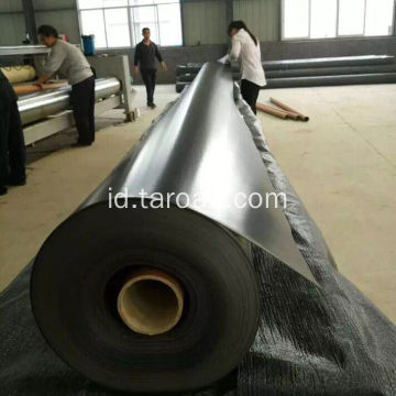 Black HDPE Geomembrane pond liner