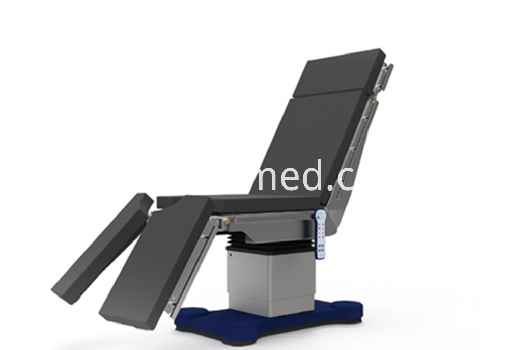 Hospital equipment electric operating table
