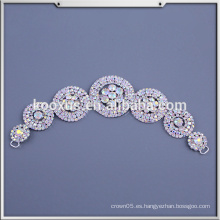 Beaded Applique Bridal Apliques Appliques nupcial para el vestido de boda