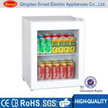 Mini escaparate vertical de alta calidad, enfriador de botellas vertical, vitrina refrigerada de chocolate
