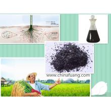 Fertilizante líquido de algas orgânicas