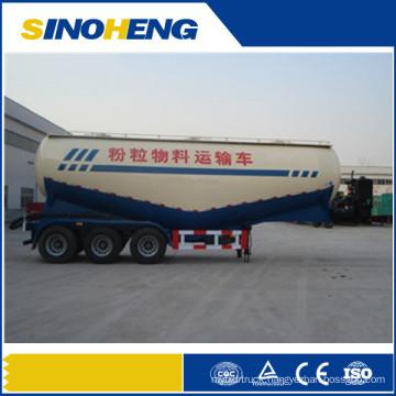 Dry Bulk Cement Powder Material Tanker Semi Truck Trailer