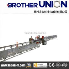 Профилегибочная машина для прокладки кабельного моста